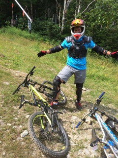 downhill session at sugarbush august 2015