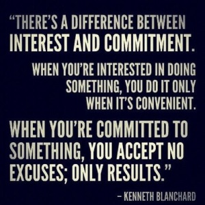 interested vs committed