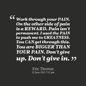 pain eric thomas