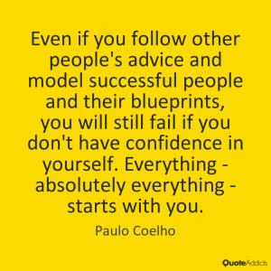 paulo coeho confidence