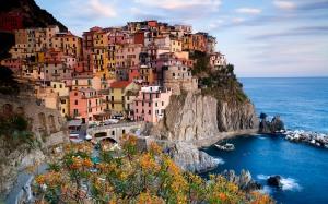 Cinque Terre: veduta di Manarola, La Spezia (La Spezia, Cinque T